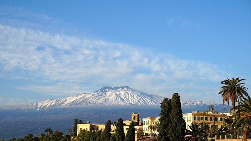 El Volcán Etna de Sicilia