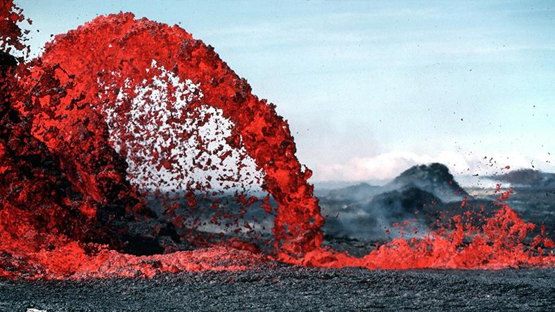 Entra en Erupción un volcán en la Palma.