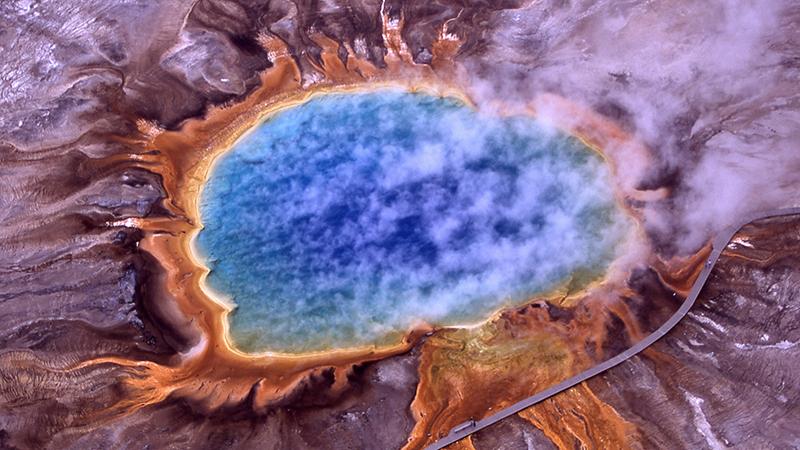El volcán de Yellowstone