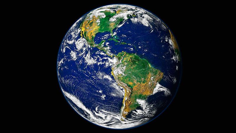 El crecimiento del núcleo de la Tierra.